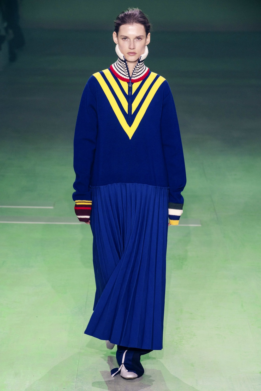 Best Paris Fashion Week Looks - Lacoste Fall 2019 Runway Collection #PFW #FashionWeek