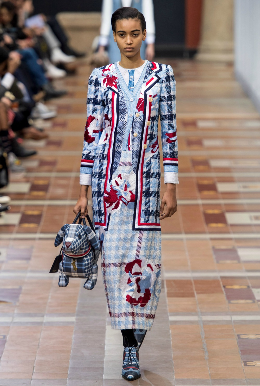 Best Paris Fashion Week Looks - Thom Browne Fall 2019 Runway Collection #PFW #FashionWeek
