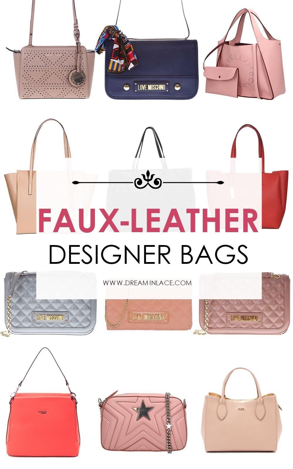 Most Popular Blog Posts - Faux-Leather Designer Bag