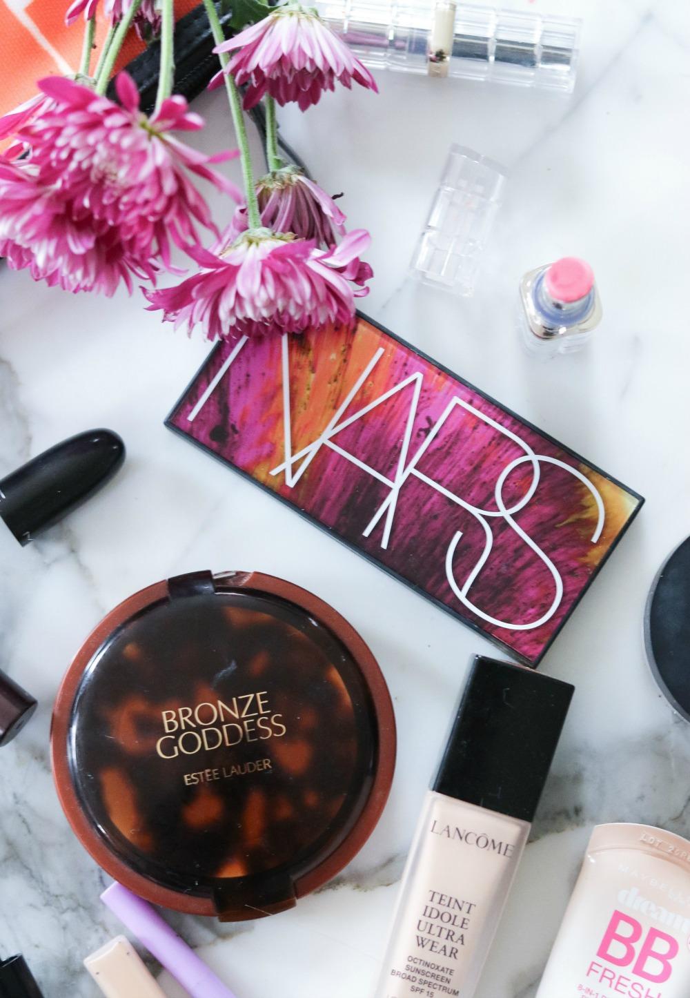 Inside My Spring Travel Makeup Bag