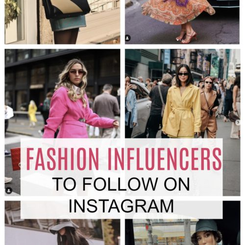Best Fashion Influencers to follow on Instagram during Fashion Week I Tamara, Caro Daur, Leonie Hanne, Susie Bubble and more. #StyleBlog #fashionweek #fashionblogger #fashioblog