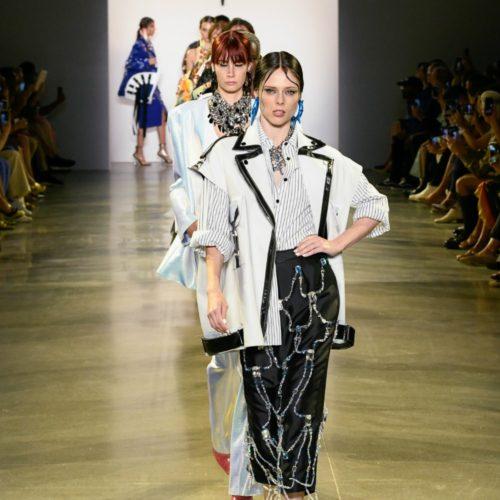Victoria Hayes Spring 2020 Collection Runway I DreaminLace.com #NYFW #VictoriaHayes #DesignerFashion #Runway