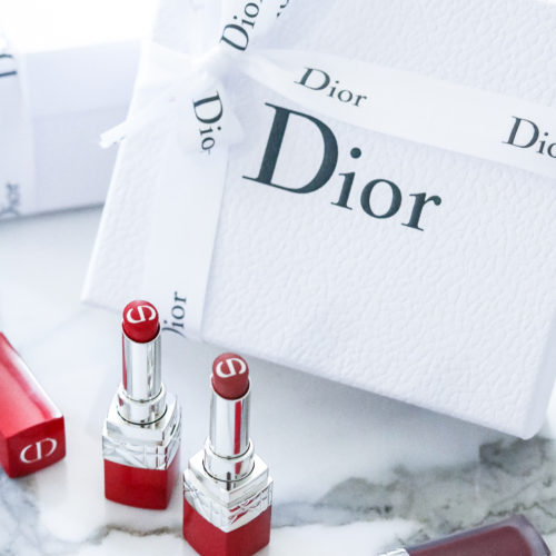 Dior Ultra Care Lipsticks I Luxury Makeup Blog DreaminLace.co
