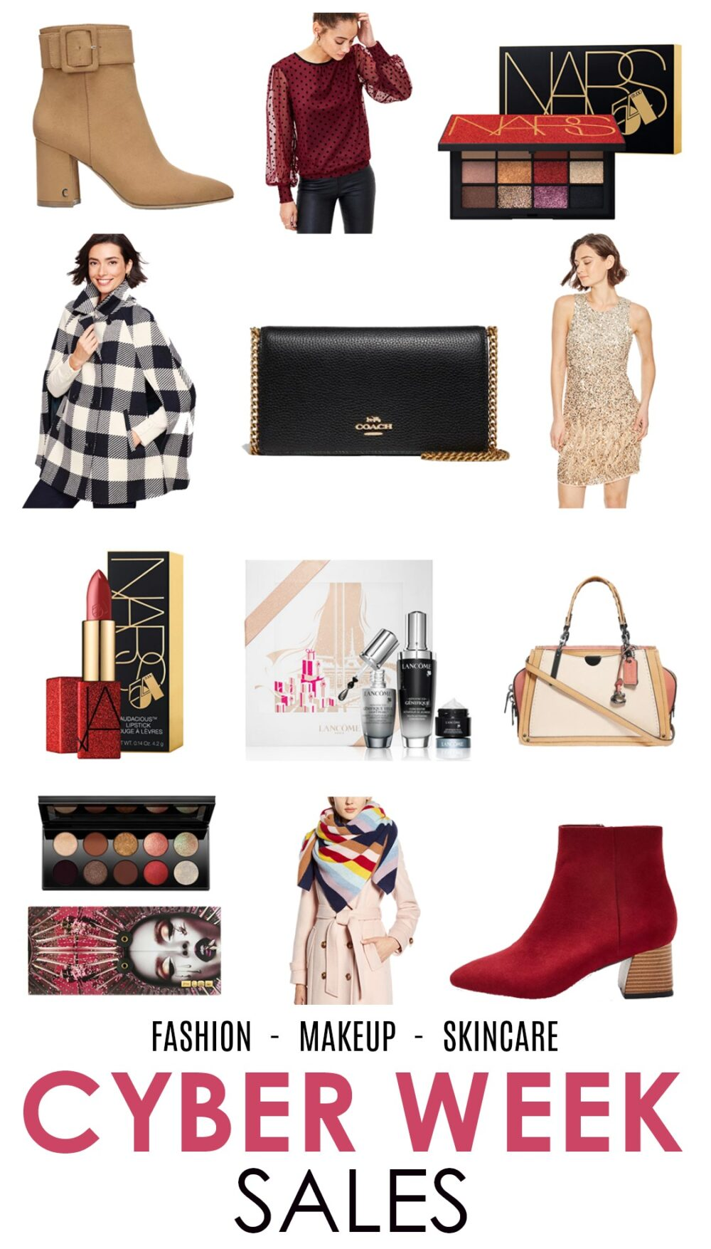 2019 Cyber Week Sales I Fashion Makeup and Skincare