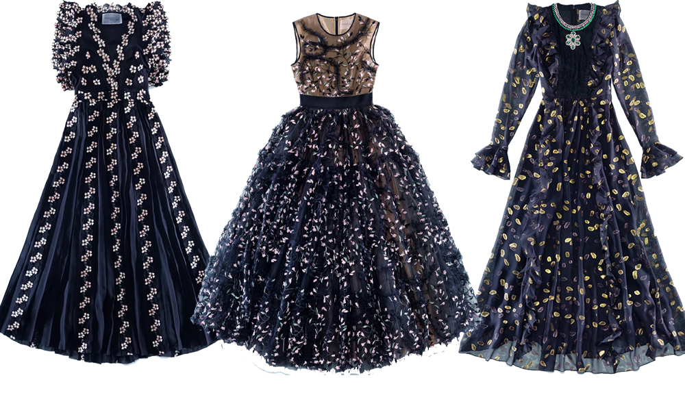 HM Giambattista Valli Collection Chiffon Dress I DreaminLace.com