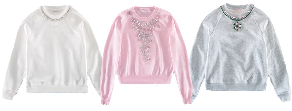 HM Giambattista Valli Collection Sweatshirts I DreaminLace.com