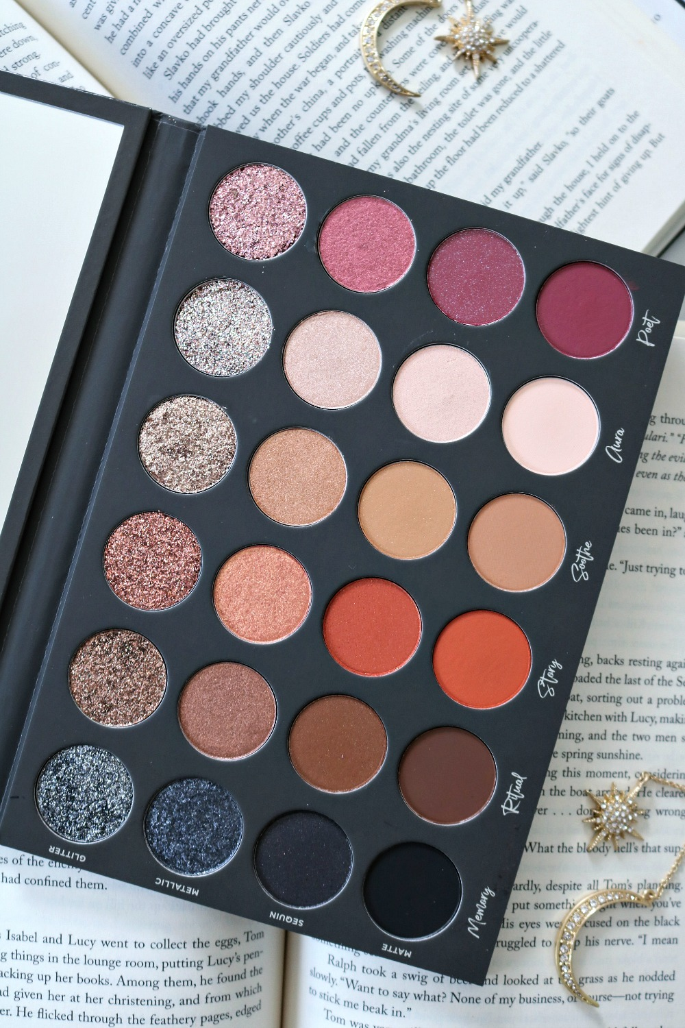 Tati Beauty Textured Neutrals Eyeshadow Palette Review and Giveaway I DreaminLace.com