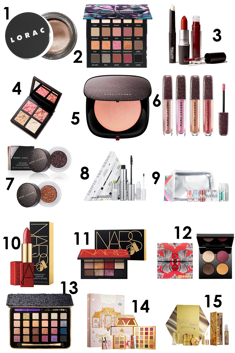 Best 2019 Holiday Makeup Releases I DreaminLace.com