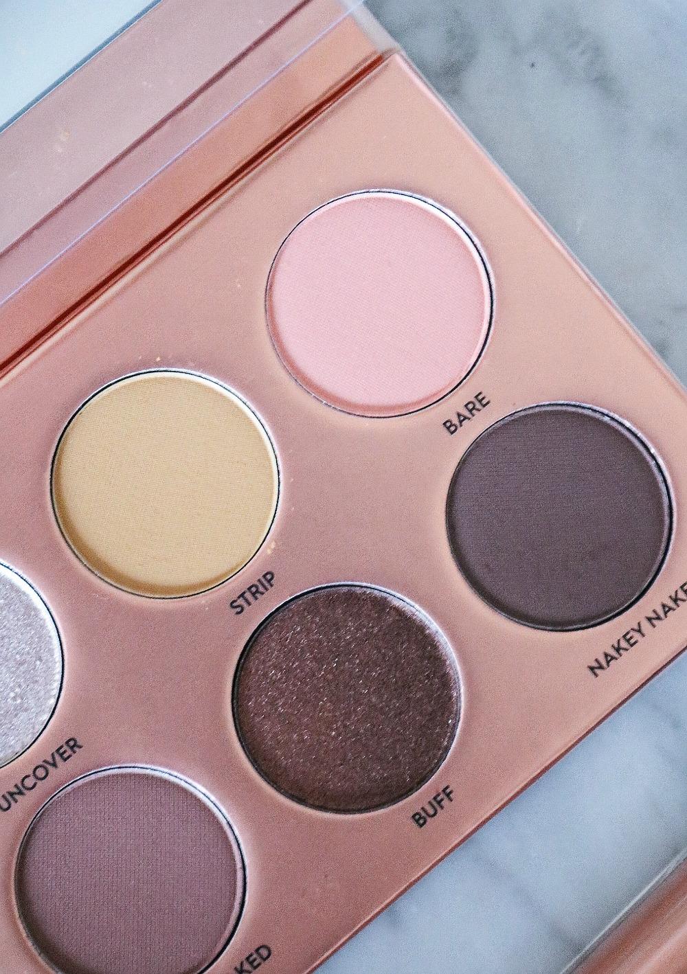 Laura Lee Nudie Patootie Eyeshadow Palette Review I Blogmas 2019 I Dreaminlace.com #Makeup #CrueltyFree