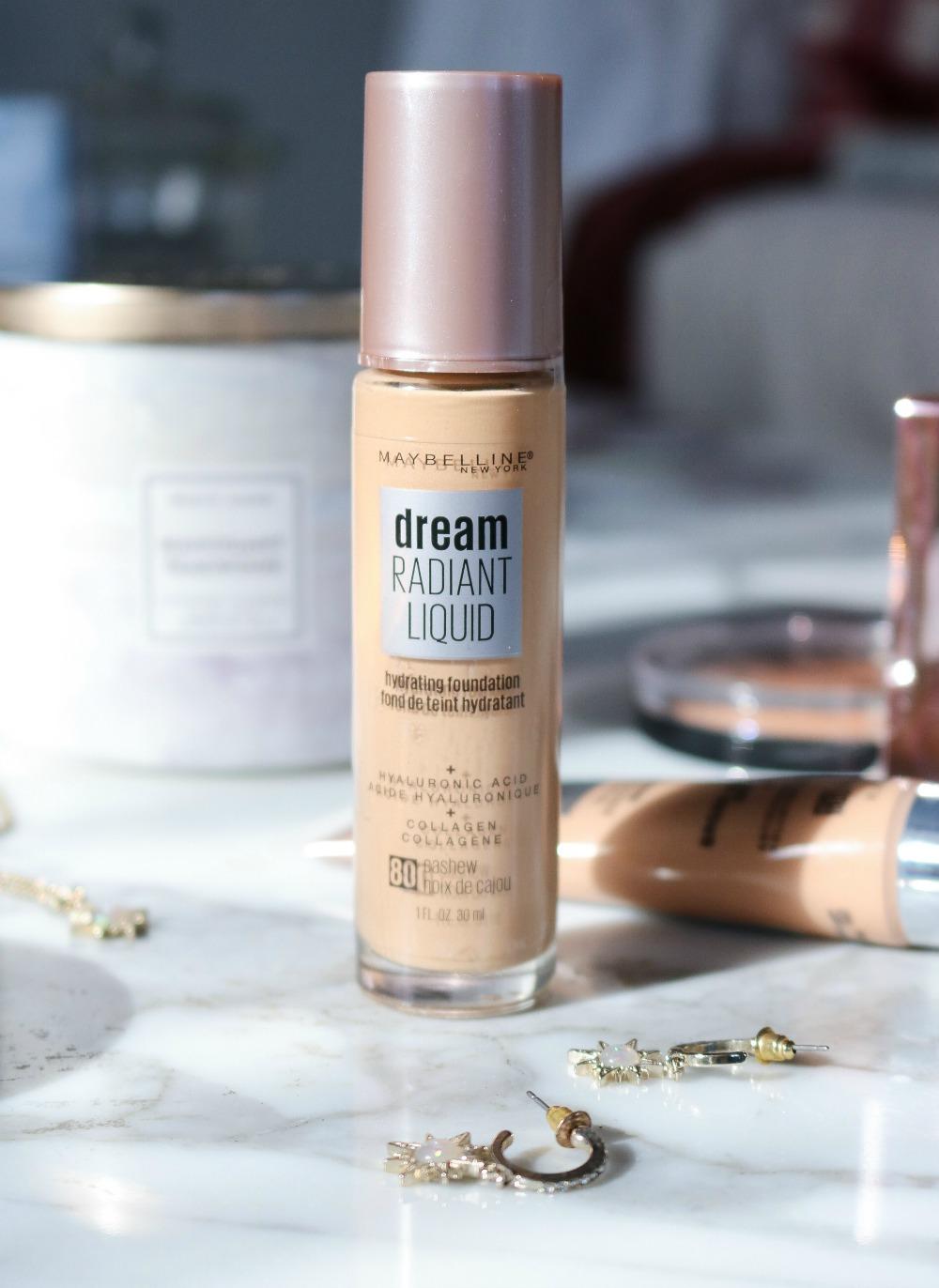 Maybelline Dream Radiant Liquid Foundation Review I Dreaminlace.com
