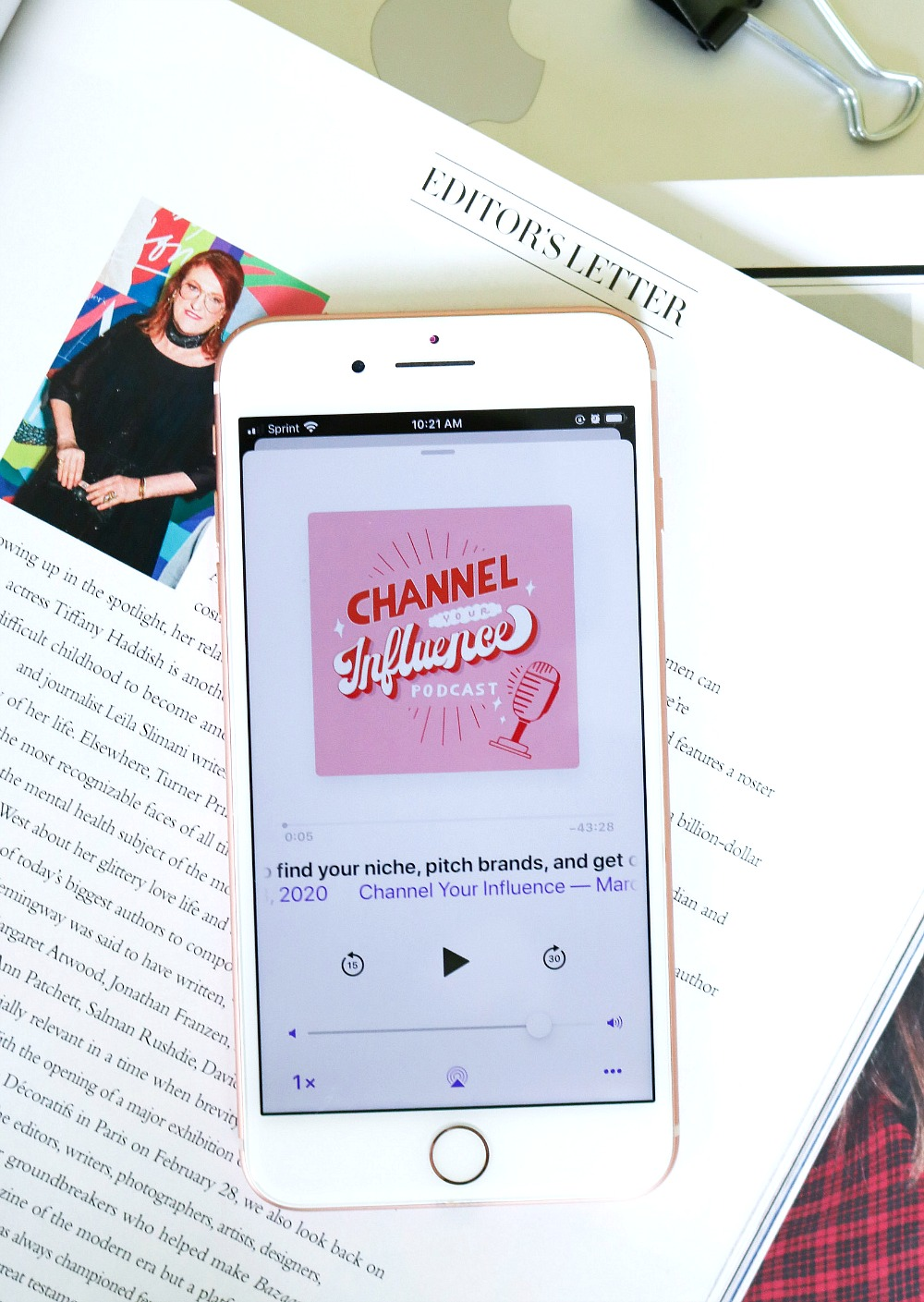 Inspiring Podcasts I Channel Your Influence by Diane Taha