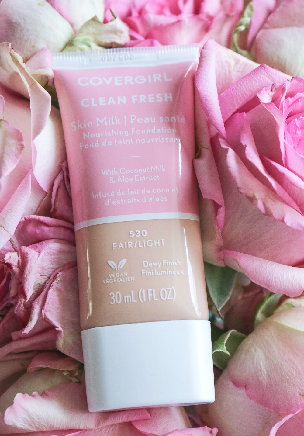 Covergirl Clean Fresh Foundation Review I DreaminLace.com