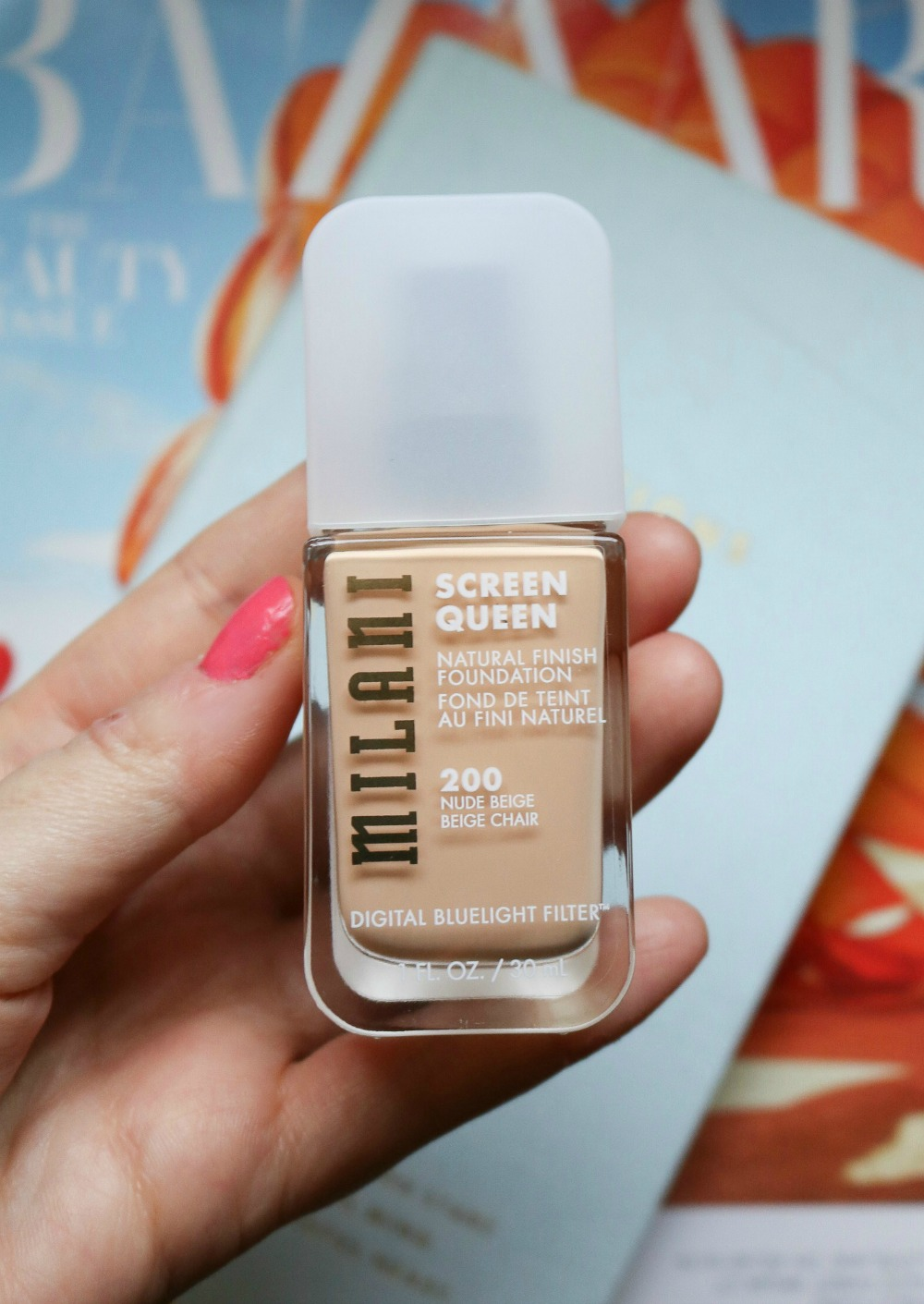 Milani Screen Queen Foundation Review I DreaminLace.com