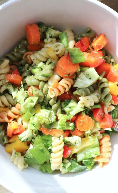 My Favorite Vegan Pasta Salad Recipe