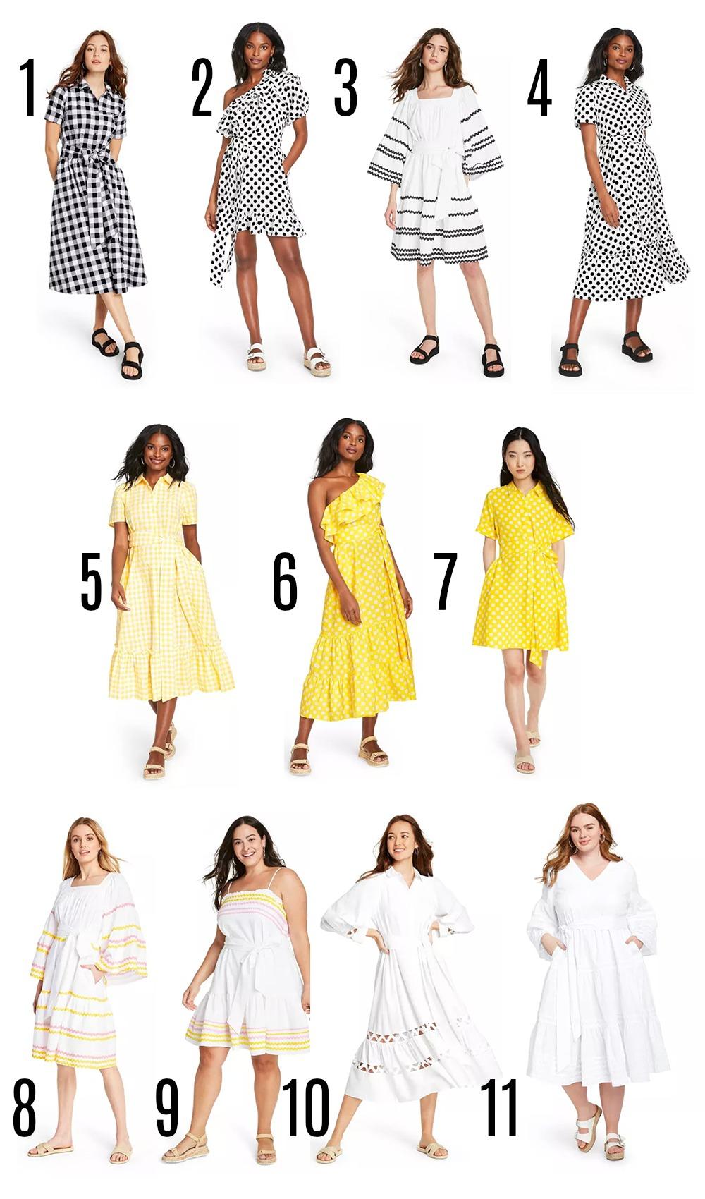 Target Designer Dress Collection for Summer 2020 I Lisa Marie Fernandez Styles on Dreaminlace.com