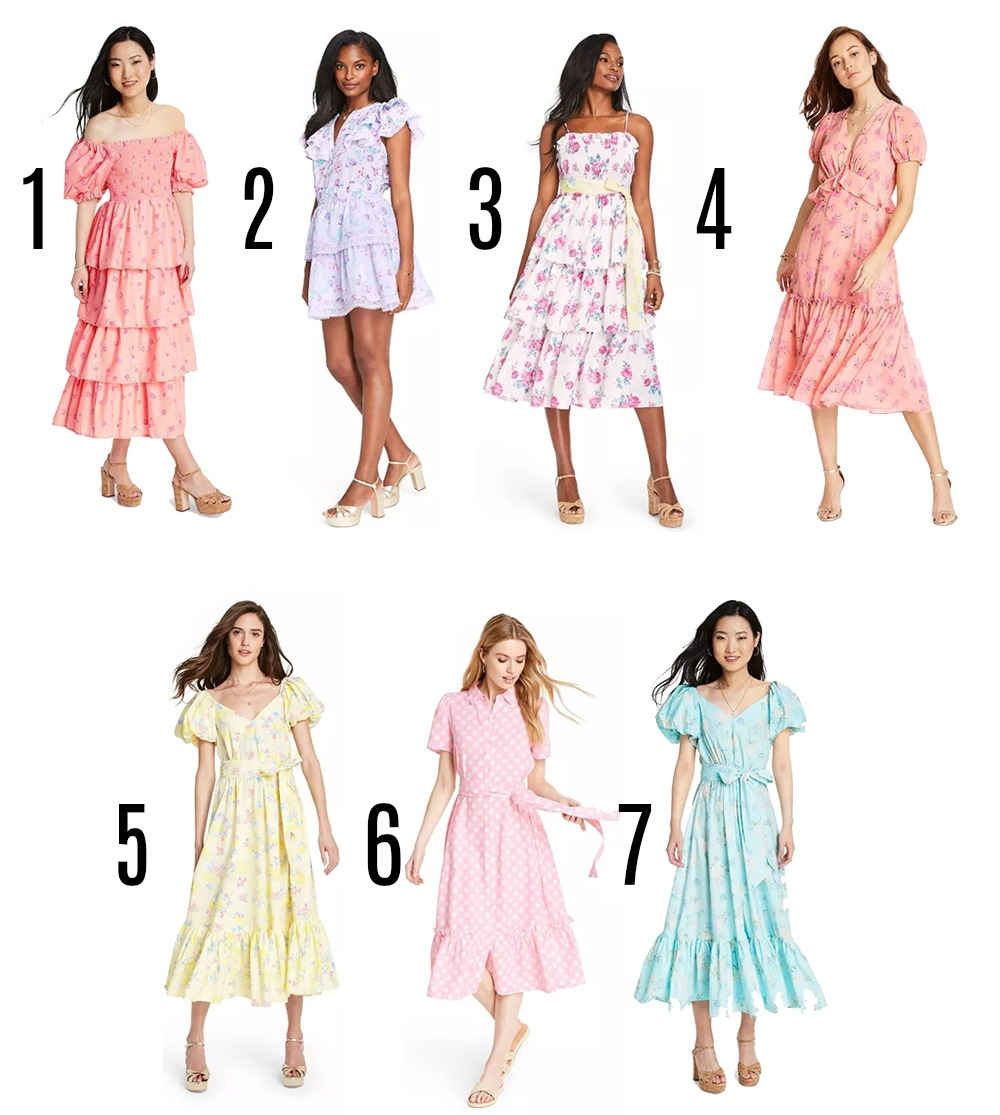 Target Designer Dress Collection for Summer 2020 I LoveShackFancy Styles on Dreaminlace.com