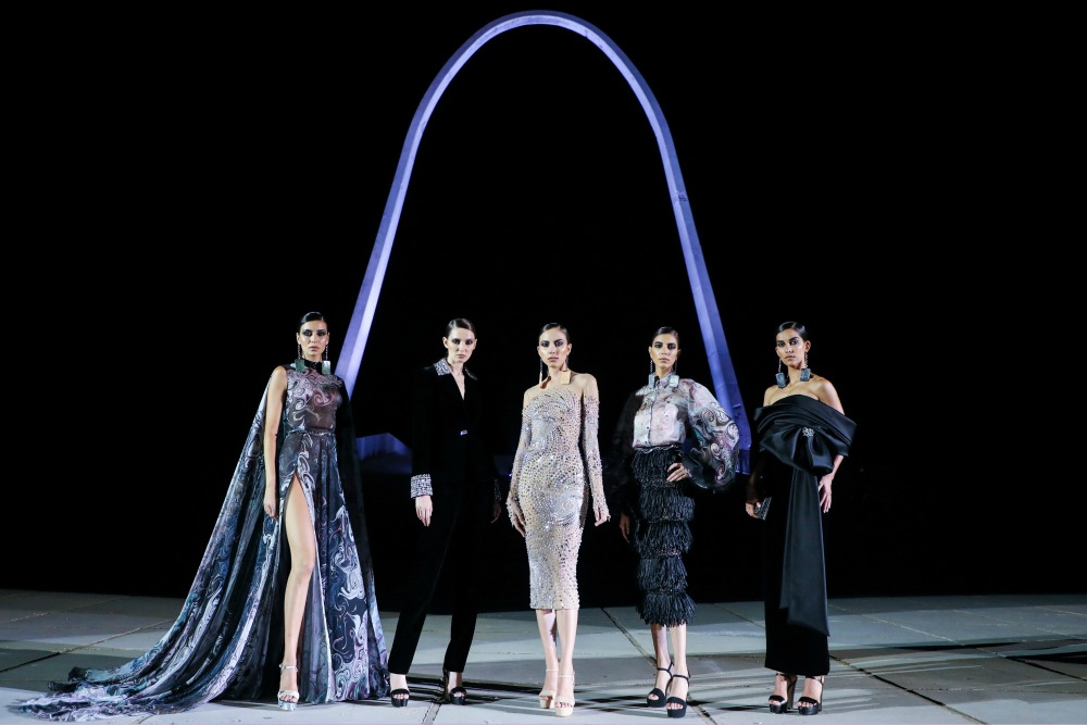 2020 Georges Hobeika Fall Couture Collection Runway I Paris Fashion Week