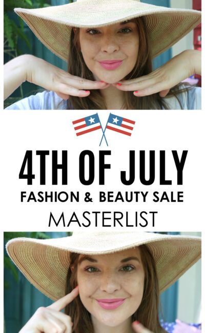 A Masterlist of All the 4th of July Sales