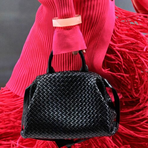 Bottega Veneta Quilted Handbag from the Fall 2020 Collection I Dreaminlace.com #fashionblog #bottegaveneta
