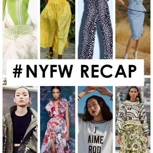 NYFW Fall 2020 Recap I Fashion Forward Friends Podcast