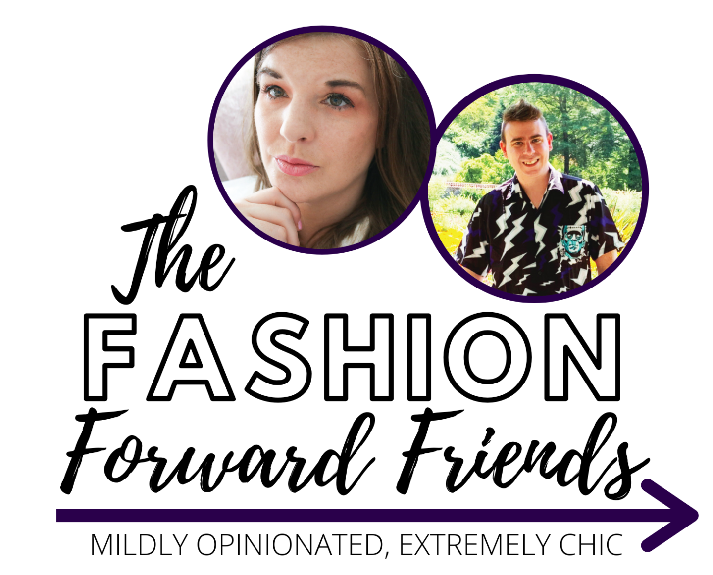 The Fashion Forward Friends Podcast hosted by Kelly Lund and Thomas Monks #Podcast #fashionblogger #FashionNews