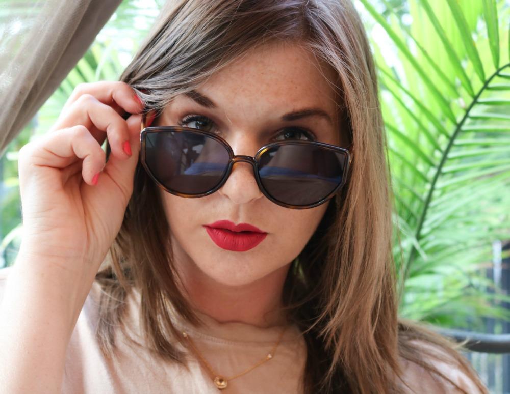 Lipslut Notorious RBG Lipstick and Dior Sunglasses I DreaminLace.com