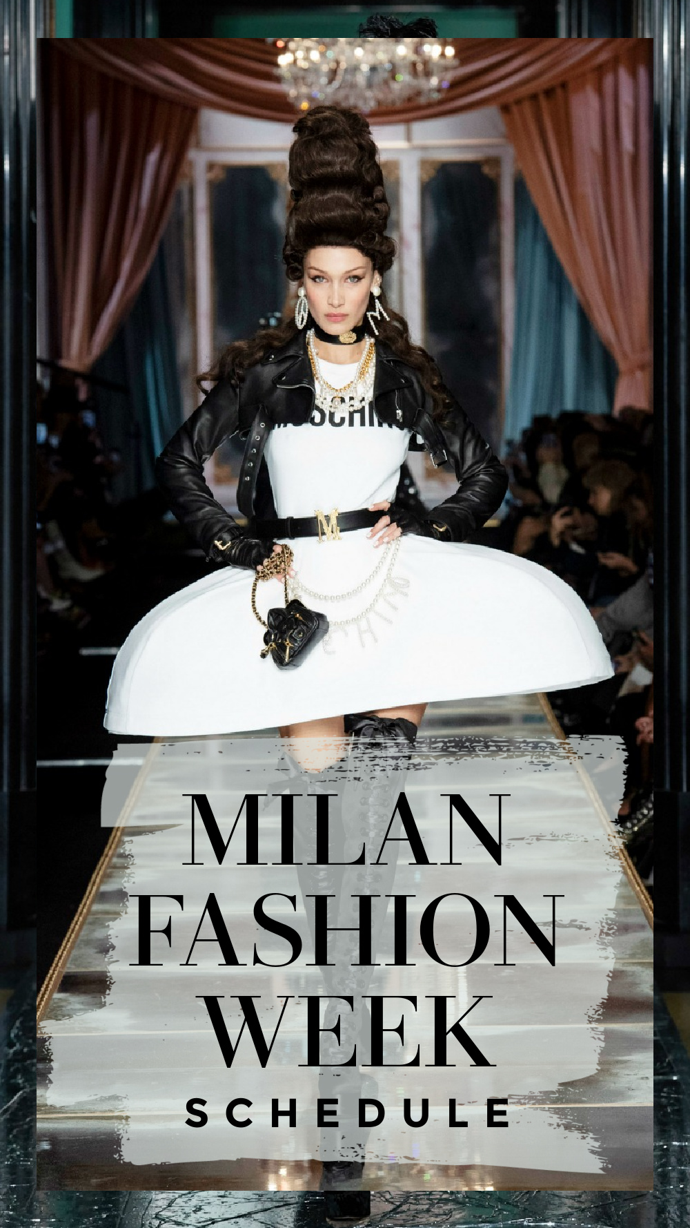 The Official MFW Fall 2020 schedule includes a mix of digital and limited in-person events. I DreaminLace.com #FashionWeek #MilanFashion #LuxuryFashion