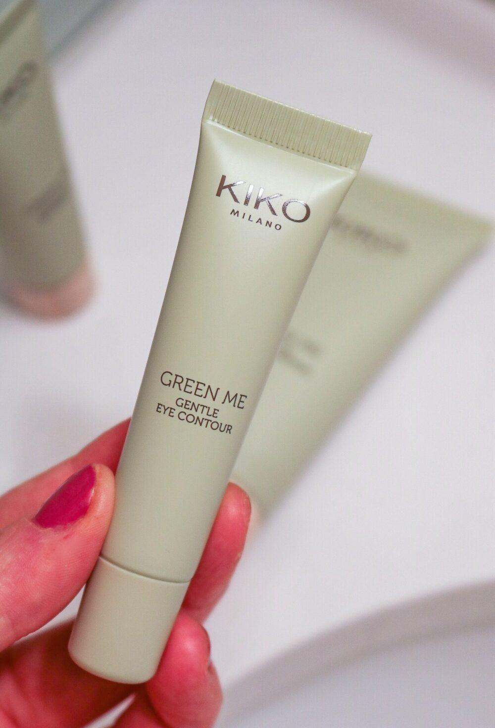 KIKO Eco-Friendly Skincare and Makeup I Green Me Eye Gel #cleanbeauty #veganbeauty #skincare #beautyblog