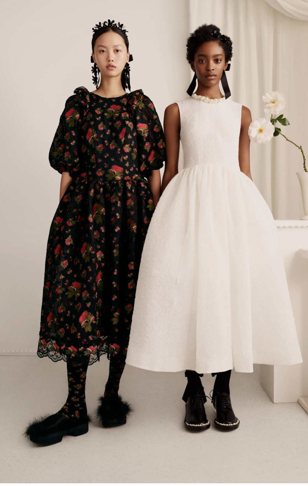 HM Simone Rocha Collection for Spring 2021 I DreaminLace.com #womensfashion #fashionstyle #simonerocha #springoutfits