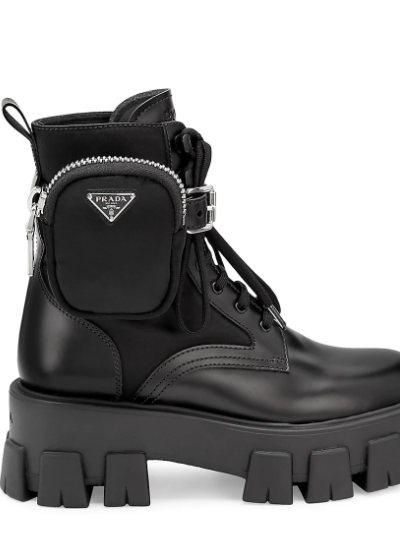 Be a Street Style Queen In Spring Combat Boots