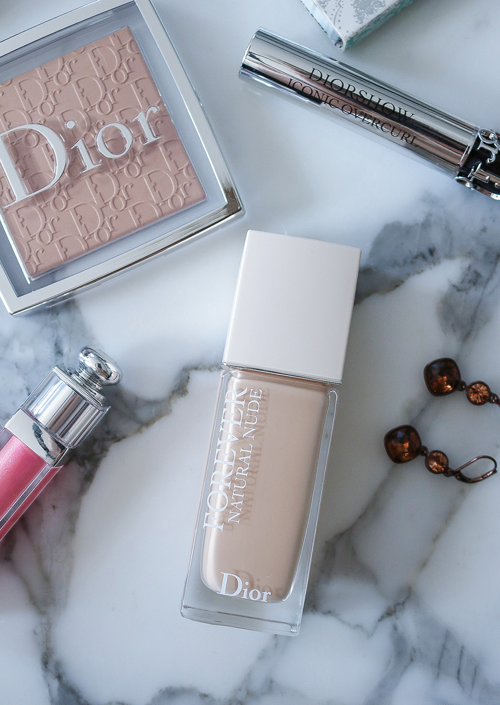 Dior Forever Natural Nude Foundation and Backstage Powder Review I Dreaminlace.com