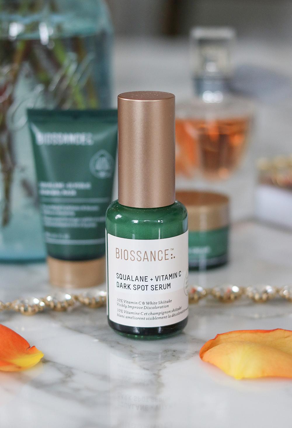 Biossance Dark Spot Serum Review I DreaminLace.com #veganskincare #cleanbeauty