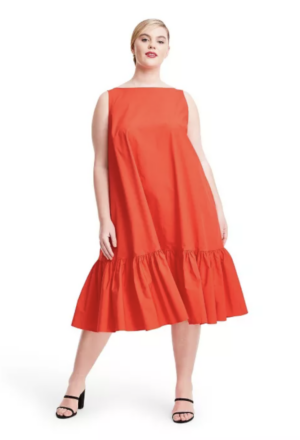 Christopher John Rogers Target Collection I Ruffled Shift Dress