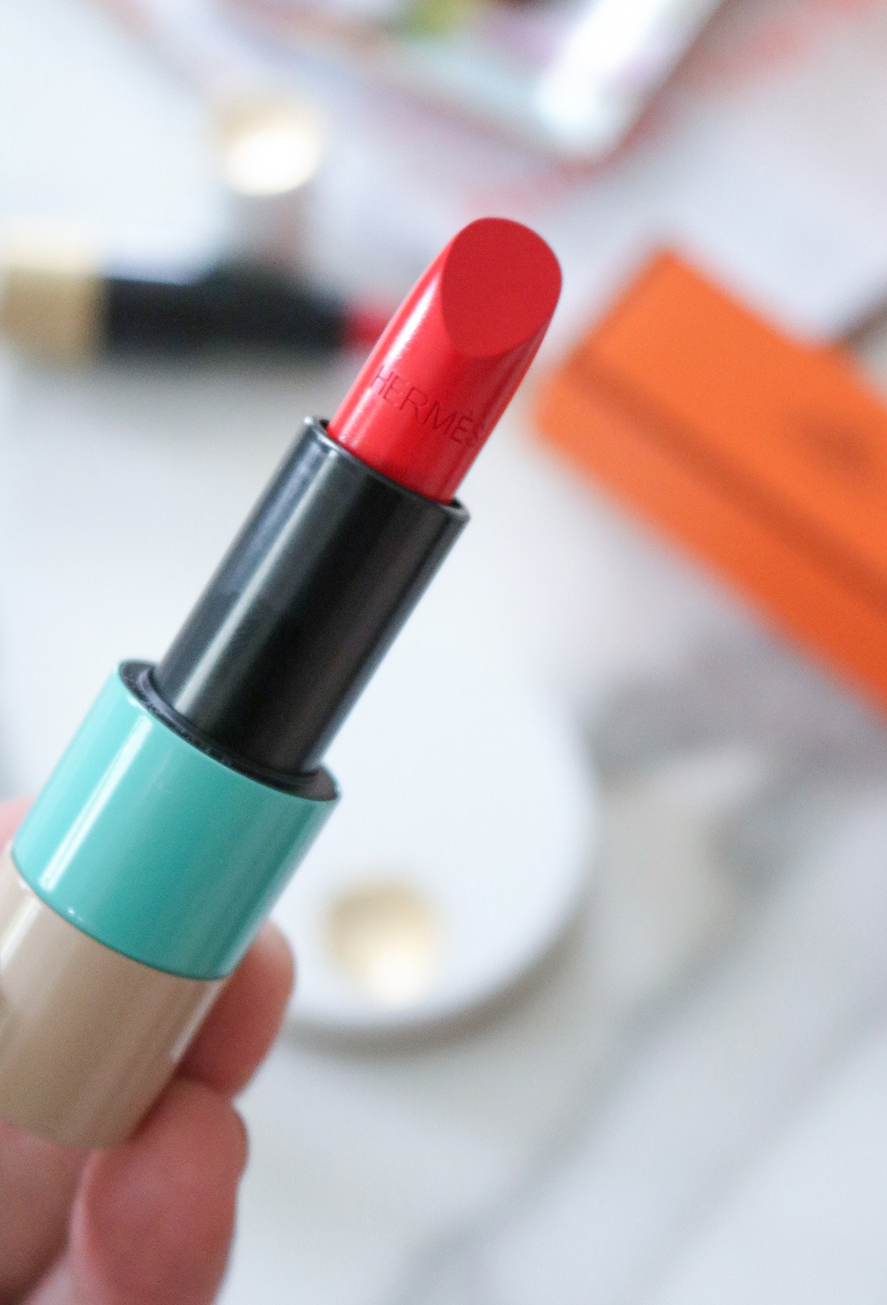 Hermes Lipstick Review I DreaminLace.com