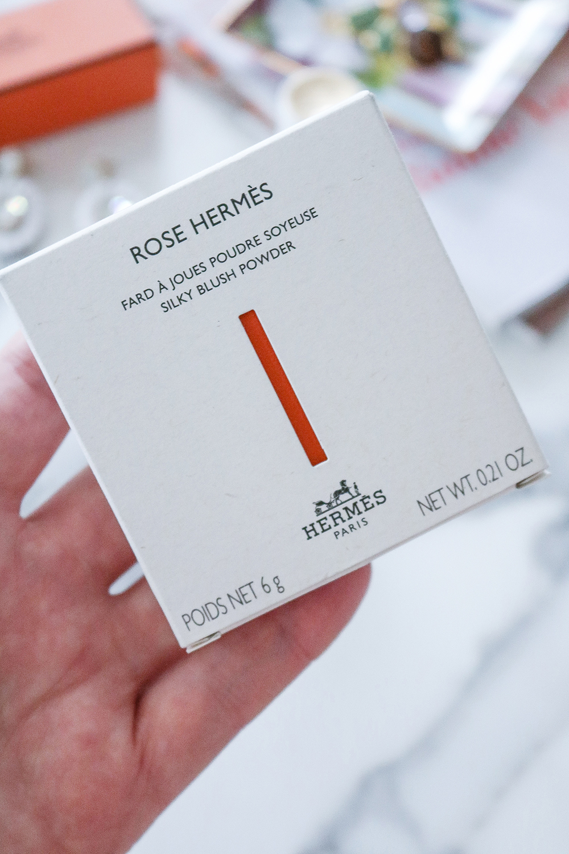 Hermes Blush Review I Dreaminlace.com #makeup #hermes #makeupaddict
