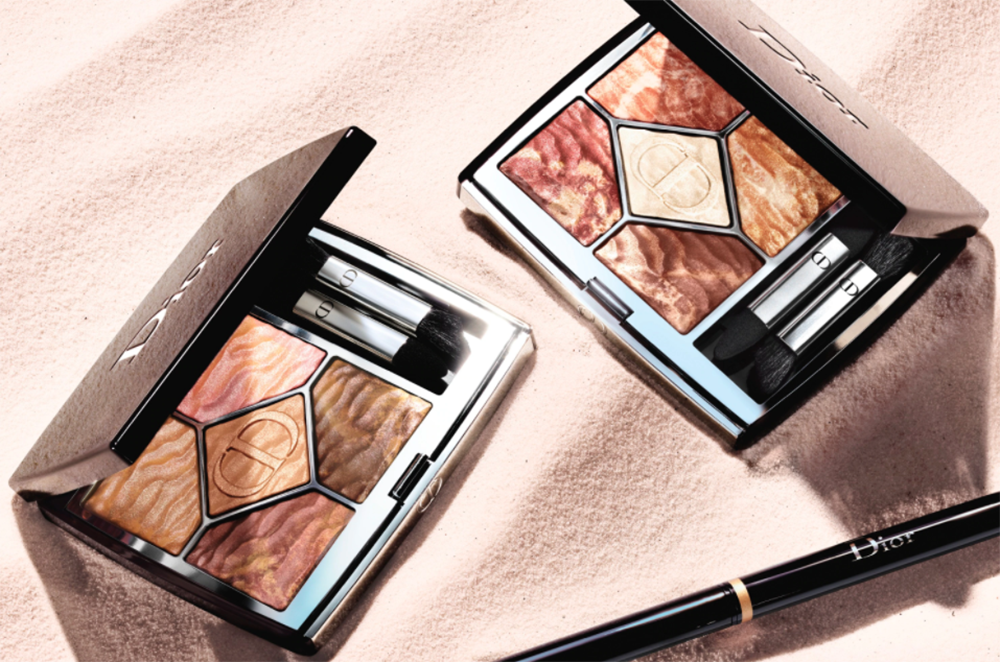 May 2021 Makeup Releases I Dior Summer Dune Eyeshadow Palettes