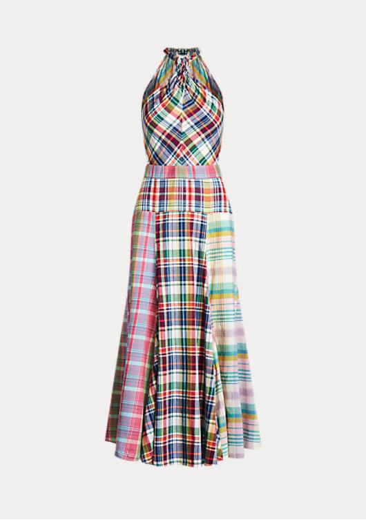 Summer Wedding Guest Dresses I Polo Ralph Lauren Striped Halter Dress #summerstyle