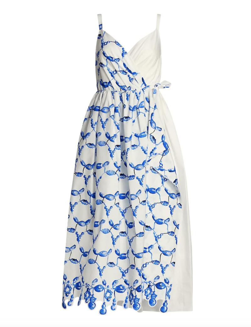 Summer Wedding Guest Dress Styles I Rosie Assoulin Print Dress