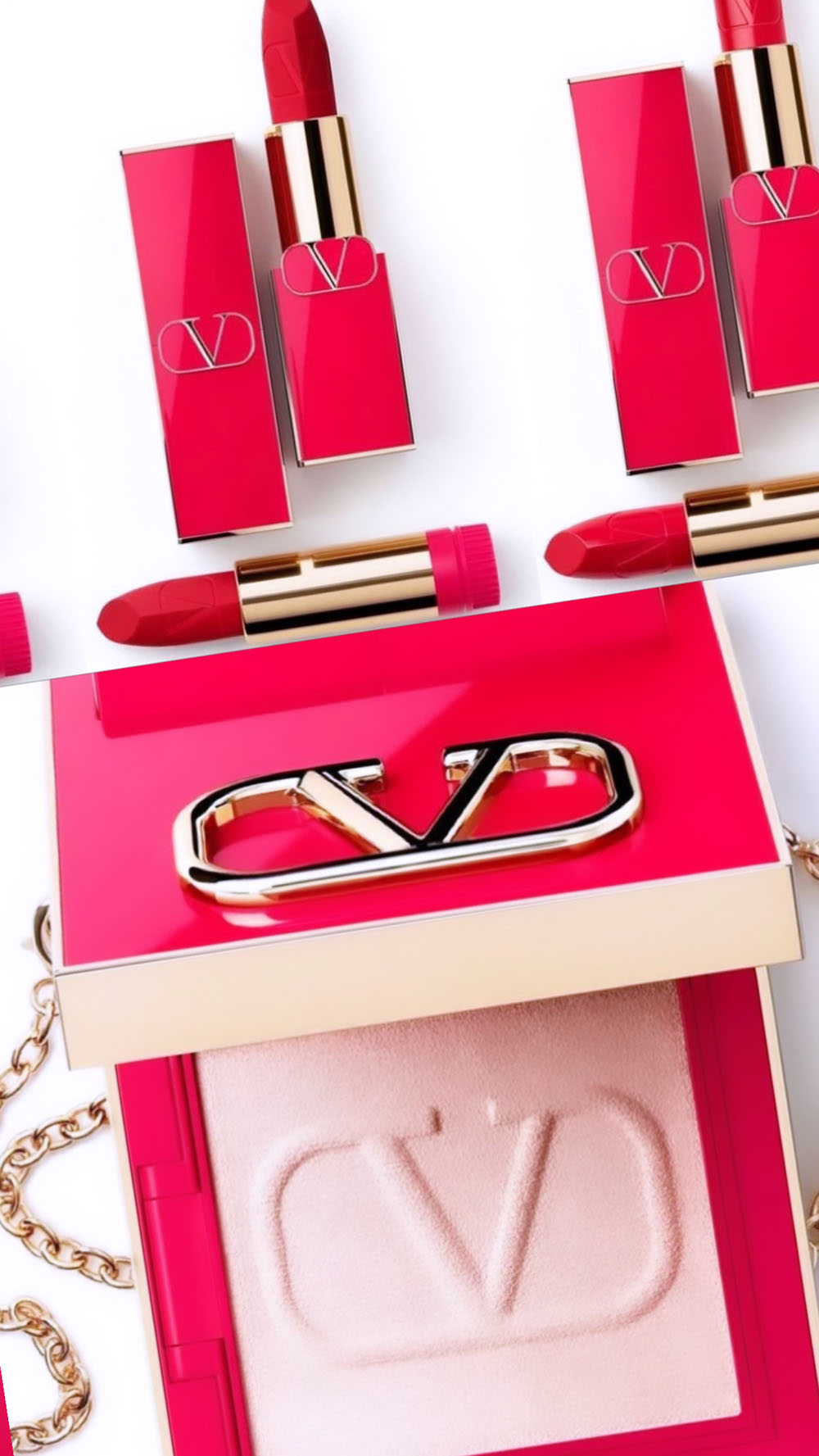 Valentino Makeup is Coming in Summer 2021 I DreaminLace.com #Makeup #valentino