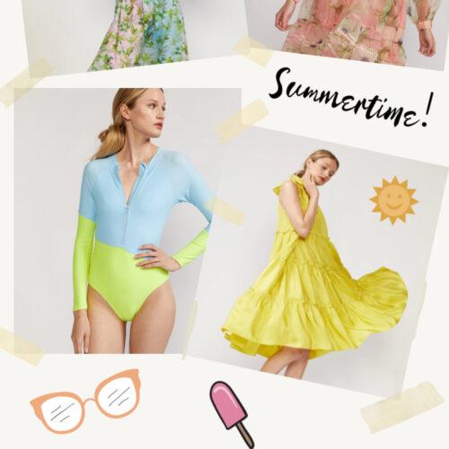 Cynthia Rowley Summer 2021 Styles I Dreaminlace.com #summerstyle