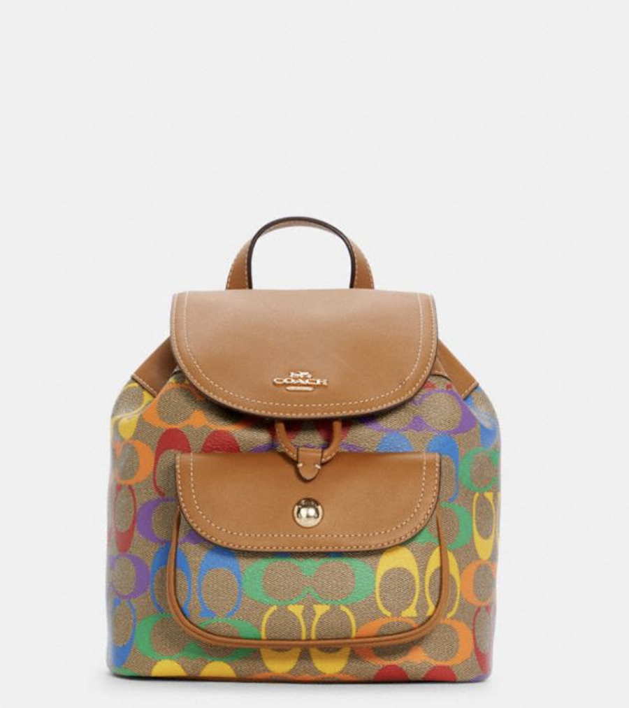 COACH Pride Collection backpack for Summer 2021 I DreaminLace.com #summerstyle #Pride #ootd #fashionstyle