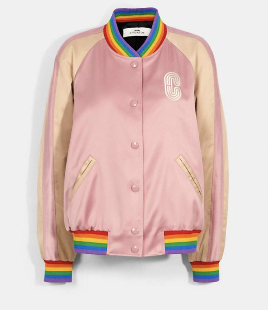 COACH Pride Collection Varsity Jacket I DreaminLace.com #summerstyle #ootdstyle #fashionstyle