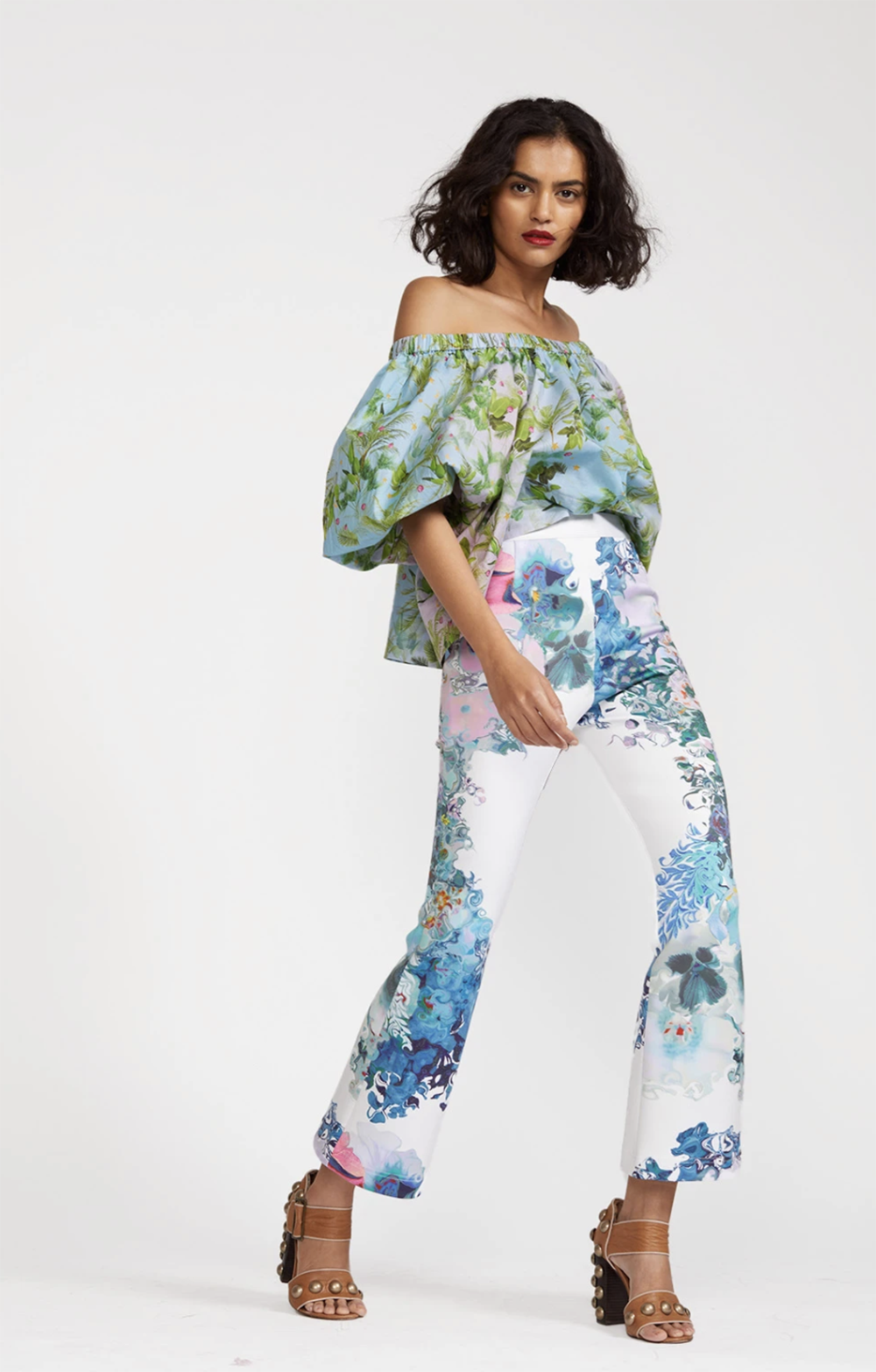 Cynthia Rowley Summer 2021 Styles I Floral Pant #summerstyle