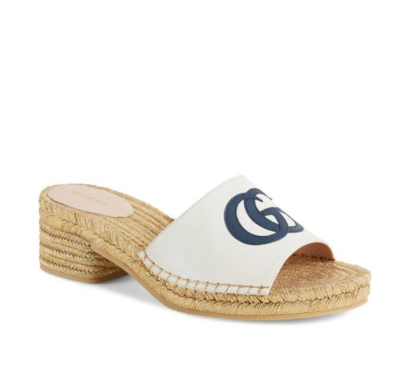 Summer 2021 Espadrilles I Gucci Block Heel Sandal #summerstyle