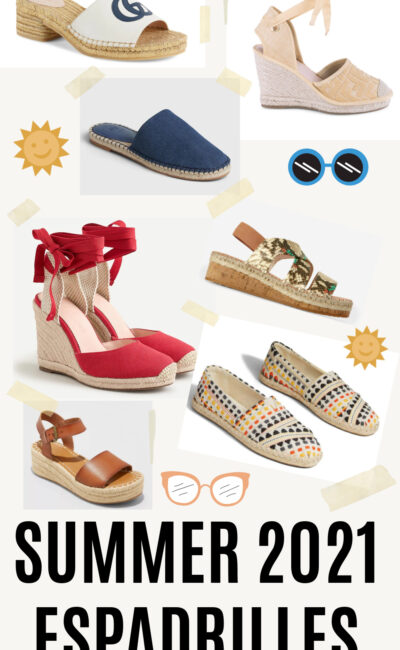 Summer 2021 Espadrilles for In-Person Living at Every Budget
