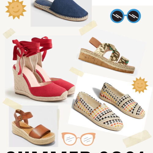 Summer 2021 Espadrilles for Every Budget I DreaminLace.com #summerstyle #shoeaddict