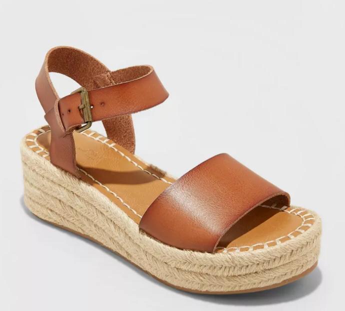Summer 2021 Espadrilles I Universal Thread Heeled Sandal from Target