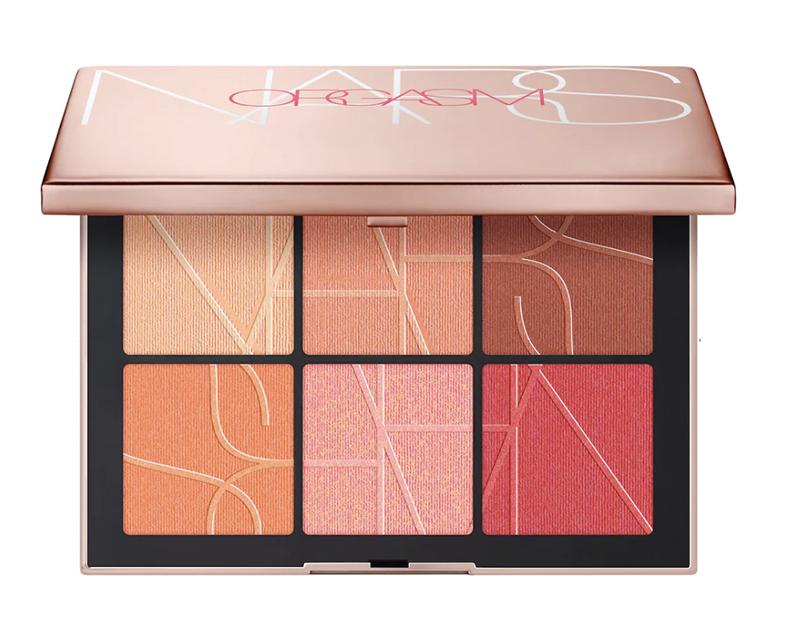 June 2021 Makeup Releases I NARS Orgasm on the Beach Cheek Palette #makeupaddict #beautyblog