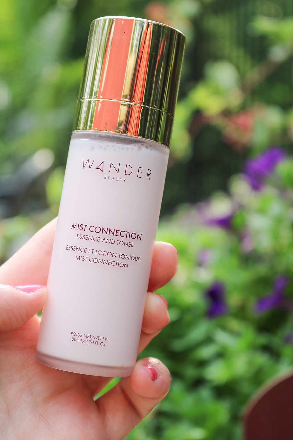 Wander Beauty Mist Connection Essence and Toner I Dreaminlace.com #cleanbeauty #crueltyfree