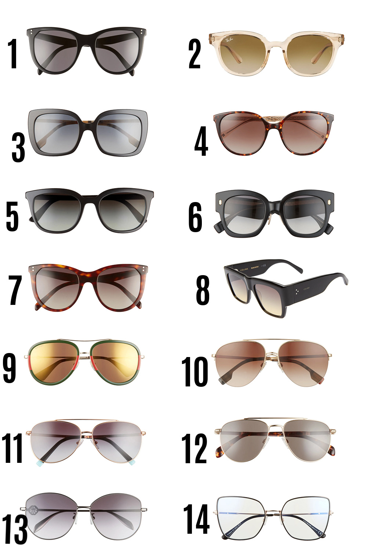 2021 Nordstrom Anniversary Sale Guide I Designer Sunglasses #fashionstyle #fashionblog